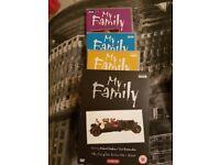 My Family boxset dvds