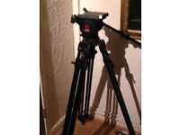 Manfrotto 350 Video Tripod with 116 Mk3 Pan Tilt head (1176)