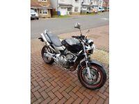 Honda hornet cb600f motorbike