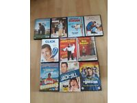 Adam Sandler comedy collection of DVD's. Large DVD bundle