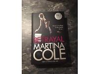 Betrayal by Martina Cole Hardback