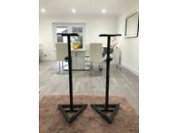 Speaker Stands (Adam Hall Make!) - Adjustable Height - Excellent condition - £20 for both.