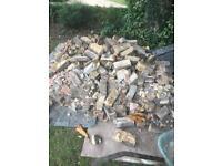 Hard core, rubble, footings aggregates