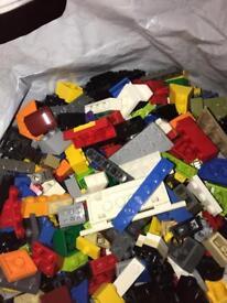 4kg of genuine lego
