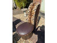 Stilleto chair