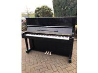 Yamaha U1 upright black case  Belfast pianos 
