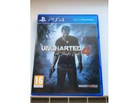 PS4 game - Uncharted 4 - a thief's end