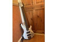 YAMAHA electric bass base 5 string TRBX505 - WHITE