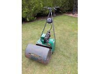 "Suffolk Punch 43S 17"" Cylinder self propelled lawnmower"