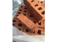 Red 65mm facing bricks 90