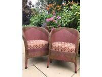 1935 Lloyd Loom Lusty chairs