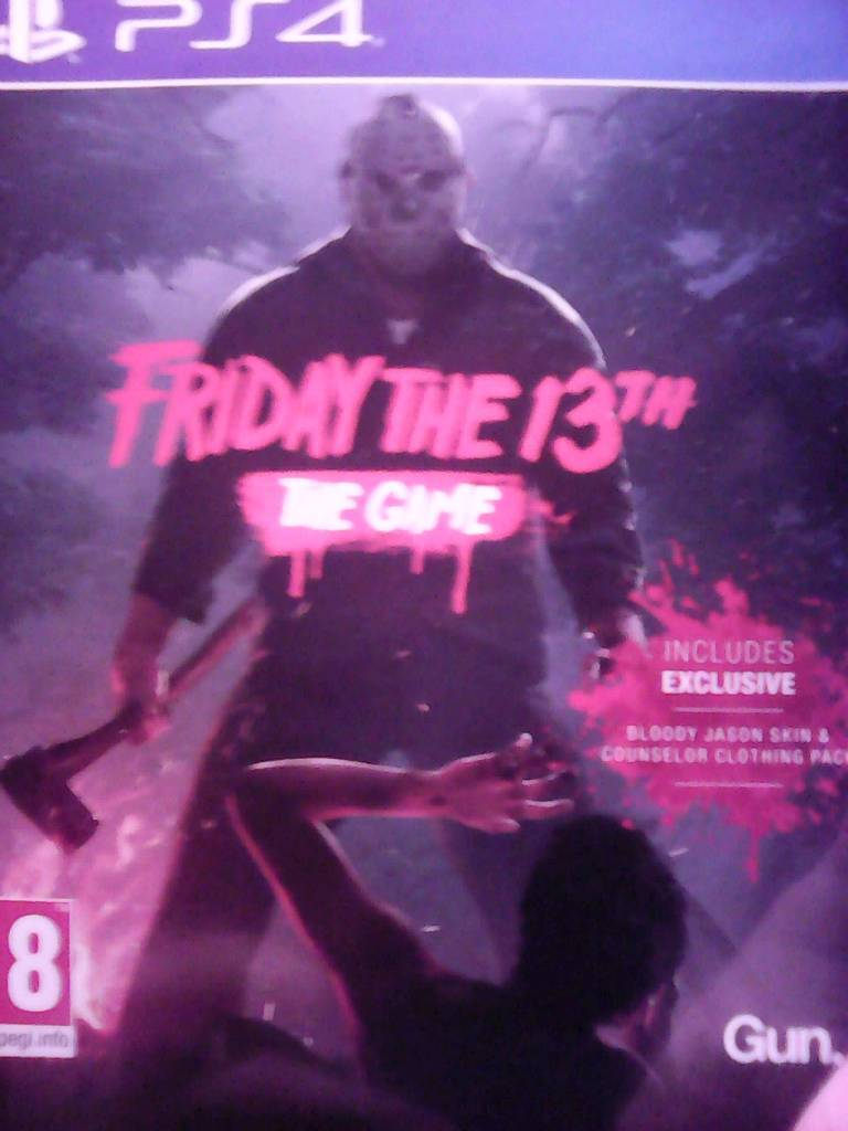 Friday the 13th PS4 game and figurine for sale