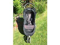 Baby Jogger City Mini Black Single Pushchair