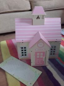 Rosebud cottage school dolls house