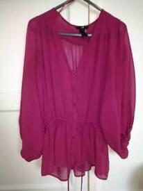Beautiful HM floaty blouse