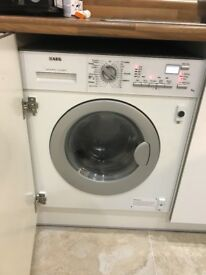 AEG Lavamat-turbo 7kg washer-dryer (is integrated)