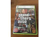 Xbox 360 Grand Theft Auto IV GTA 5 (not Xbox one)