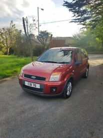 2008 ford fiesta fusion 1.4 diesel 74k lady owner **reg not included**