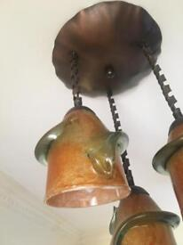 Art Deco style ceiling light fitting