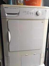 Tumble dryer condenser can deliver