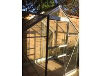 6x4 Greenhouse/100% intact/Dismantled/Can deliver