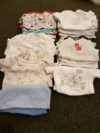 Huge baby boys vest bundle