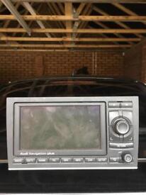 Audi Wide screen Genuine sat Nav a3 a4 a5 a6 s3 s4 rs4 gps