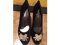 Chanel Kitten Heels