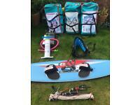 3x North Rebel Kitesurfing package