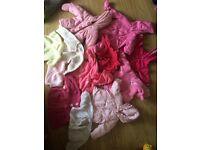 75 items girls 0-3newborn clothes