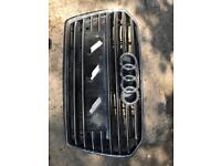 Front grill for Audi A6 from 2014/2017.