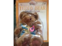 """Collectible teddy bears ,80all still in origininal pack ,approx.8""""high good condition ."""