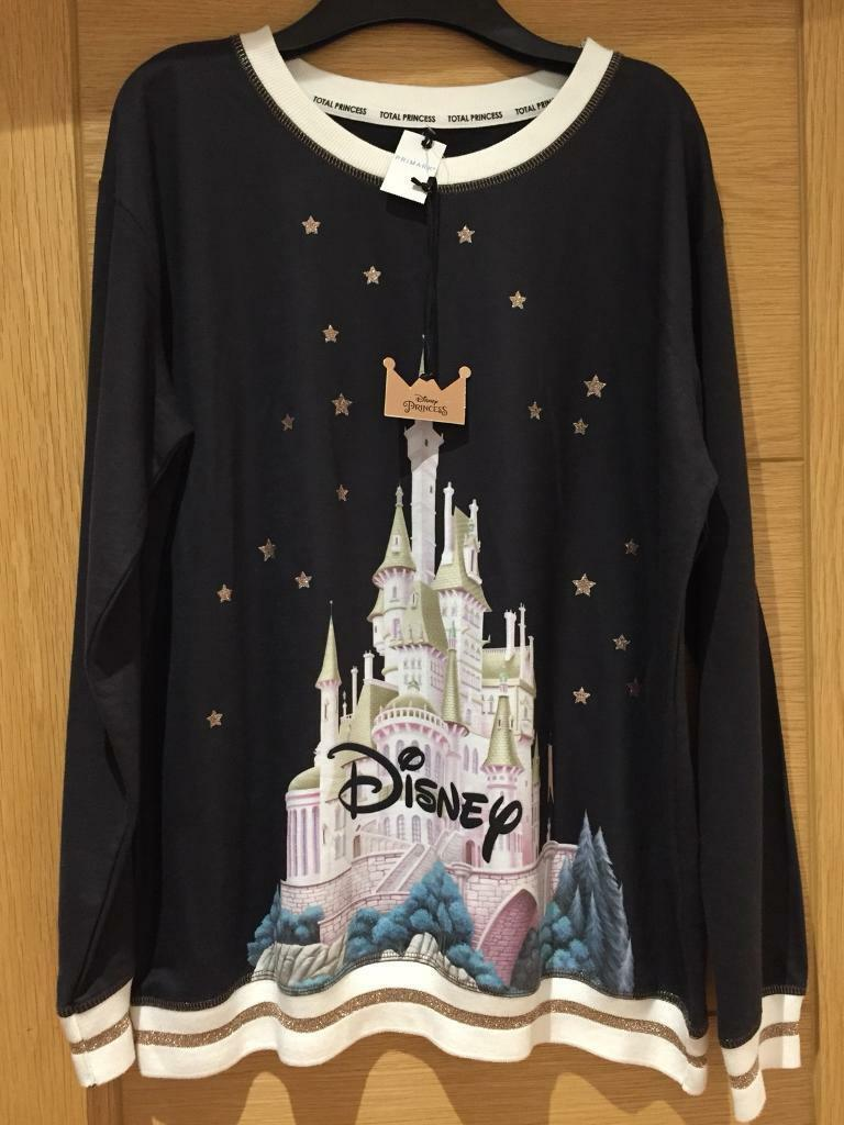 18dd0f4ff74e8 Disney Castle Shirt, By Primark, Disney Princess, Black. | in Leyton ...