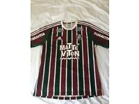 Shirt Signed By Ronaldinho - Real