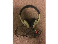 Only £10!! SkullCandy UpRock Headphones with Mic/Remote