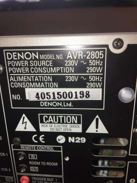 Denon AVR 2805 | in Great Barr, West Midlands | Gumtree