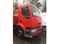 Renault Midlum 18 ton RECOVERY TRUCK, 2003, Slide and tilt