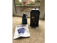 Dr Who Sound Effects Tardis, Darlek and Matt Smith Figurine