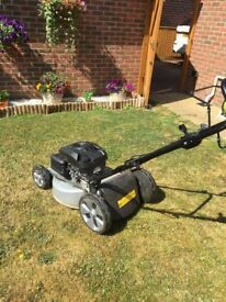 Mountfield motor mower 1 year old with 2 years warranty
