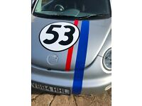 vw new beetle (herbie )