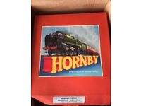 Hornby Train Set 1956 in original box and with papers