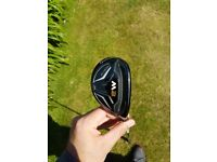 Taylormade Hybrid, used twice on range. Delivery included, Paypal accepted