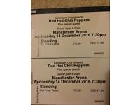 1 red hot chili pepper ticket 14 th December Manchester