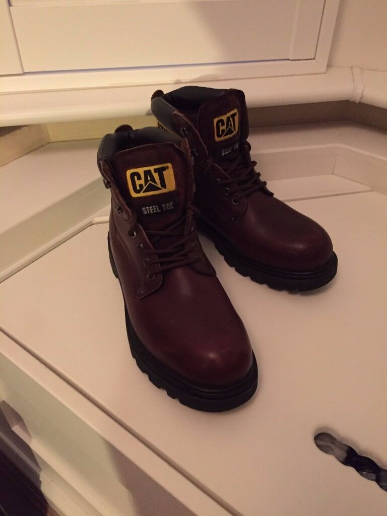 Caterpillar Steel Toe Mens Safety Boots Size 9 UK (43 EURin South Croydon, LondonGumtree - For sale Caterpillar Steel Toe Mens Safety Boots Size 9 UK (43 EUR) Dark Brown Used few times Very good conditions Collection only