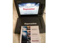 Raymarine C120W Widescreen Multifunction Navigation Display - Radar - Sonar - GPS