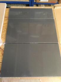 B&Q anthracite drawer fronts set and base end panel