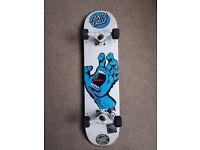 Santa Cruz Skateboard deck - comes complete