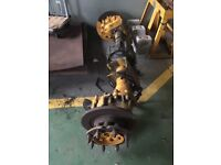 Mercedes MB Trac 800 Rear Axle with Discs