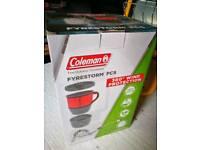 Coleman firestorm camping stove.