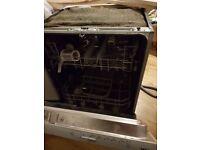 Free Integrated IKEA (Whirpool) Dishwasher (Faulty pump)